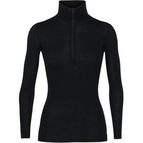 Icebreaker W's 175 Everyday LS Half Zip Shirt Black